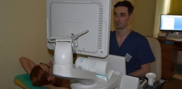 Z okazji Dnia Kobiet bocheński szpital przeprowadził kampanię bezpłatnego badania USG piersi.