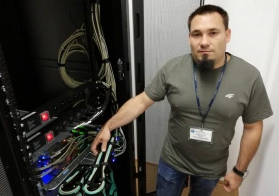 Fot. Część serwerów szpital zakupił w ubiegłym roku - mówi Tomasz Migda, kierownik działu IT Szpitala Powiatowego w Bochni