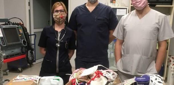Do bocheńskiego szpitala płynie pomoc! Bardzo za nią dziękujemy!